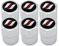 6 bouchons de valve Luxyline plastique