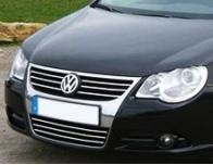 Lower radiator grill chrome trim VW EOS