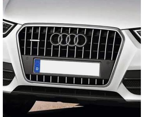 Radiator grill chrome moulding trim Audi Q3