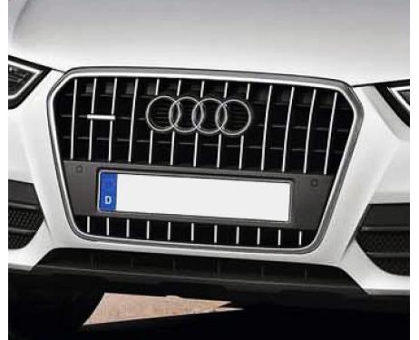 Baguette de calandre chromée Audi Q3