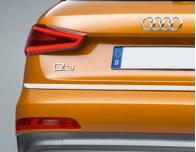 Trunk chrome trim Audi Q3