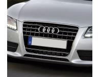 Double baguette de calandre chromée Audi A5 Cabriolet 0911 Audi A5 Coupé 0711 Audi A5 Sportback 09