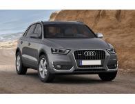 Chrome moulding trim for fog lights contours Audi Q3
