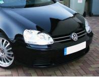 Upper radiator grill chrome trim VW Golf 5