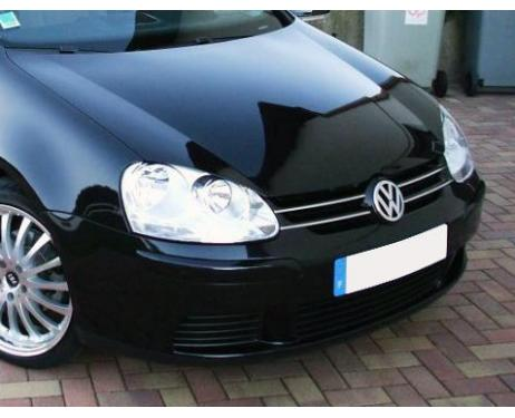 Upper radiator grill chrome trim VW Golf 5