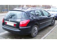 ChromZierleiste für Kofferraum Peugeot 407 SW