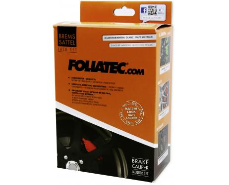 Painting kit for brake calipers matte red