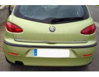Trunk chrome trim Alfa Romeo 147