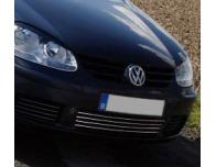 Lower radiator grill chrome trim VW Golf 5