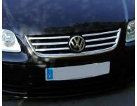 Radiator grill chrome moulding trim VW Touran 0306