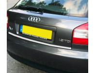 Trunk chrome trim Audi A3 Série 1 9600