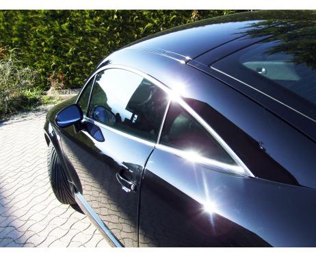 Baguette chromée de contour des vitres latérales Audi TT Série 1 9806 Audi TT Série 2 0614 Audi TT