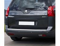 Trunk chrome trim Peugeot 5008 0913  Peugeot 5008 phase 2 1320
