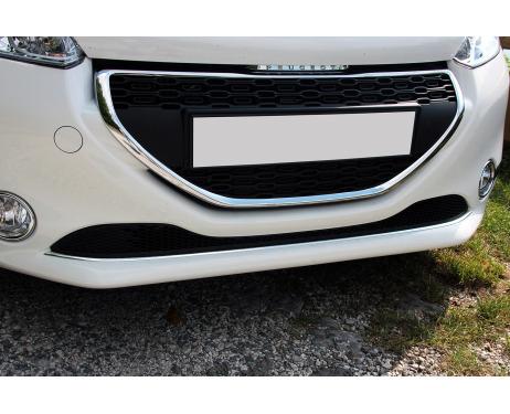 Baguette de calandre inférieure chromée Peugeot 208