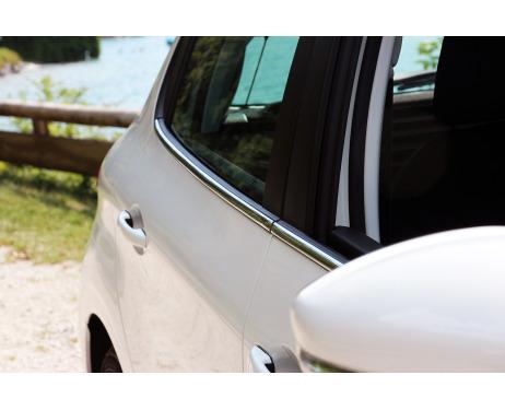 Baguette chromée de contour inférieur des vitres Peugeot 208