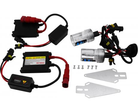 Kit xénon DC H4 4300k slim