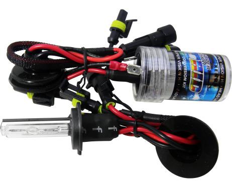 Lot de 2 ampoules xénon de rechange DC H7 4300k