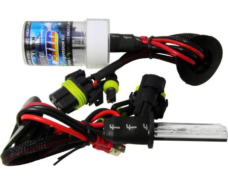 Lot de 2 ampoules xénon de rechange DC H1 5000k