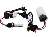Lot de 2 ampoules xénon de rechange AC H7 4300k