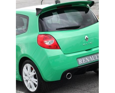 Spoiler  fin Renault Clio 3  Renault Clio 3 phase 2