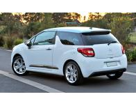 Side windows lower chrome trim Citroën DS 3