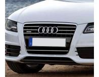 Baguette de calandre chromée Audi A4 série 3 0711  Audi A4 série 3 avant 0811
