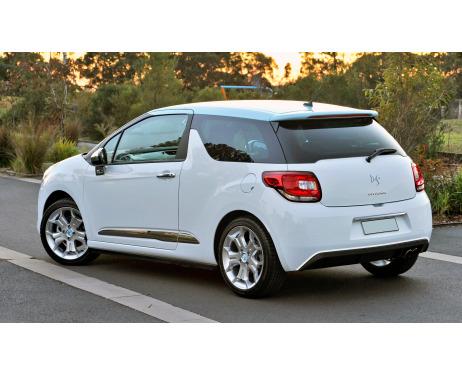 Spoiler chrome moulding trim Citroën DS 3
