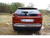 Trunk chrome trim Peugeot 3008 II 1619