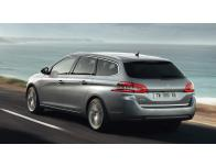 Trunk chrome trim Peugeot 308 II SW 1419