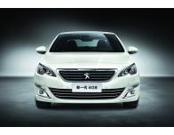 Lower radiator grill chrome trim Peugeot 408