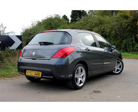 Trunk chrome trim Peugeot 308 0713