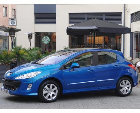 Chrome side protection trim Peugeot 308 0713
