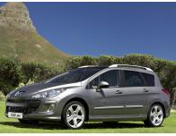 Chrome side protection trim Peugeot 308 SW 0814