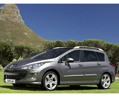 Chrome side protection trim Peugeot 308 SW 0814