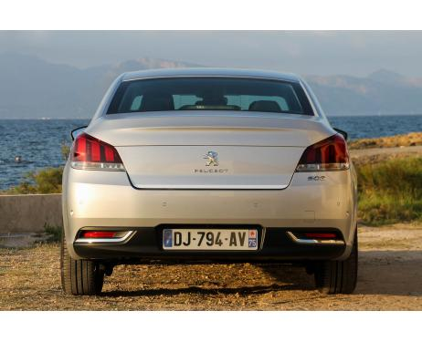 Trunk chrome trim Peugeot 508 Berline phase 2
