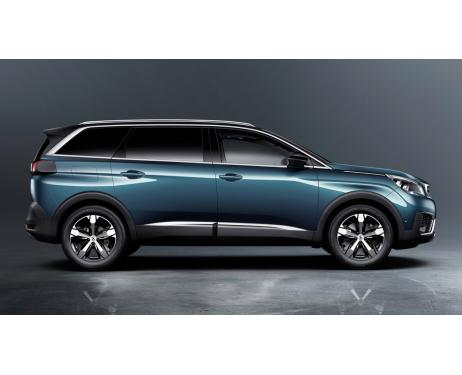 Side windows lower chrome trim Peugeot 5008 II 1719