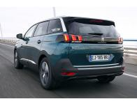 Trunk chrome trim Peugeot 5008 II 1719