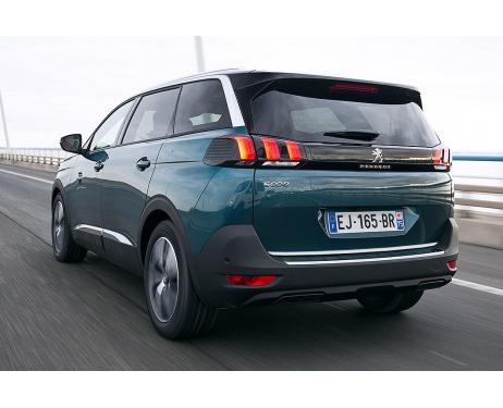 Trunk chrome trim Peugeot 5008 II 1720