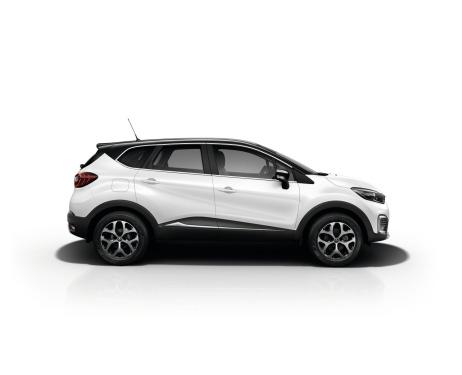 Side windows chrome trim Renault Captur
