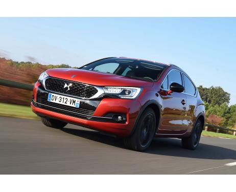 Fog lights chrome trim DS 4