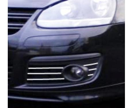 Fog lights chrome trim VW Golf 5 GT TDI