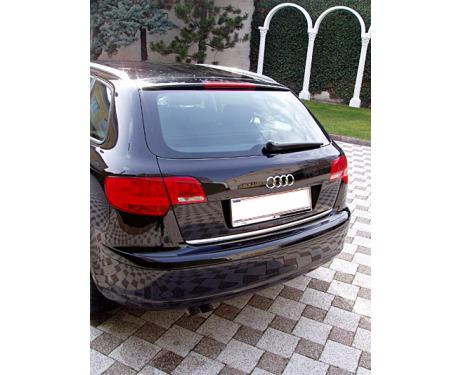 Baguette de coffre chromée Audi A1 1821 Sportback1921 A4 série 1 avant 9498série 2 0004 A6 RS3