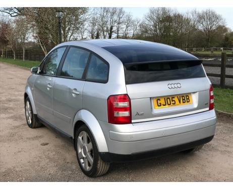 Trunk chrome trim Audi A2