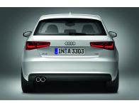 Trunk chrome trim Audi A3 Série 1 Phase 2 0003Série 3 Limousine 1316Série 3 Phase 2 1619