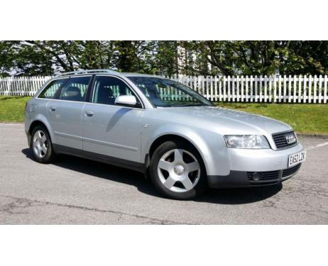 Side windows chrome trim Audi A4 série 2 0004