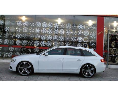 Baguette chromée de contour des vitres latérales Audi A4 série 3 avant 0811