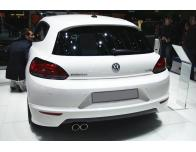 Trunk chrome trim VW Scirocco