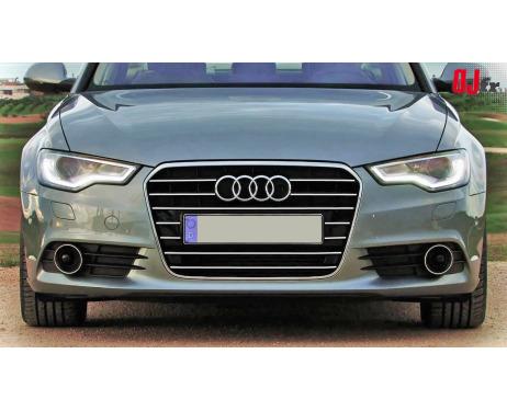 Baguette de calandre chromée Audi A6 Série 4 Avant 1015  Audi A6 Série 4 Berline 1015