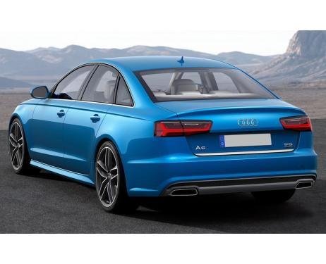 Baguette de coffre chromée Audi A6 Série 4 Berline 1015  Audi A6 Série 4 Phase 2 Berline 1418
