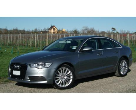Side windows chrome trim Audi A6 Série 4 Berline 1015  Audi A6 Série 4 Phase 2 Berline 1418